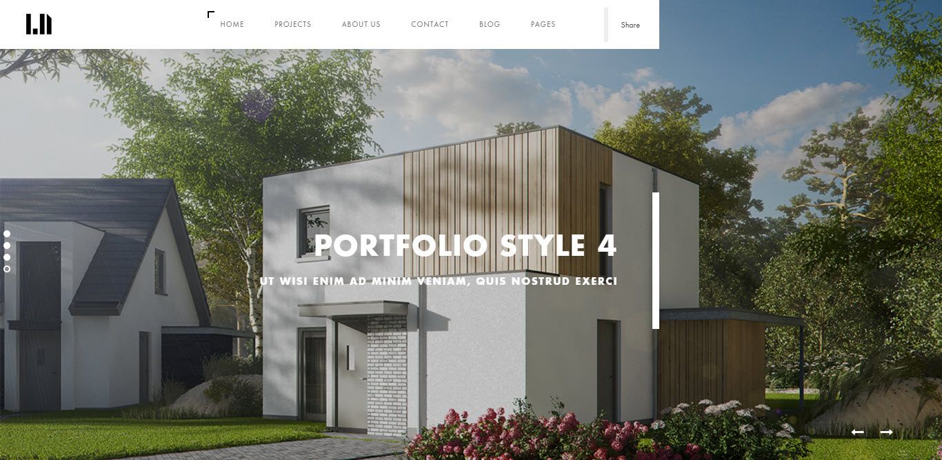 2. Domik - Creative Responsive Architecture WP Theme