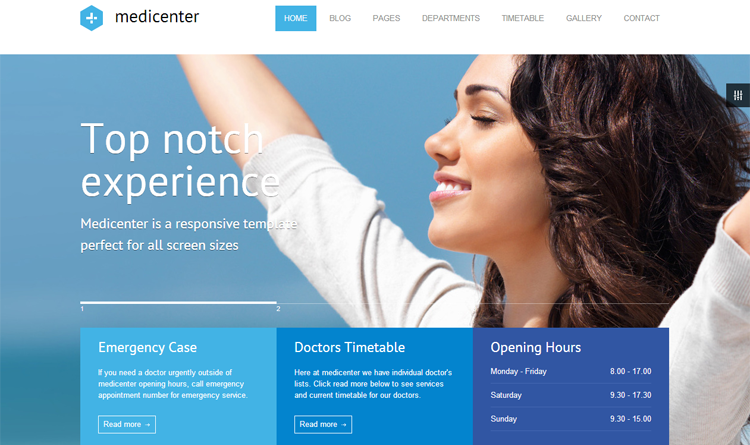 Medicenter Health & Medical WordPress Theme