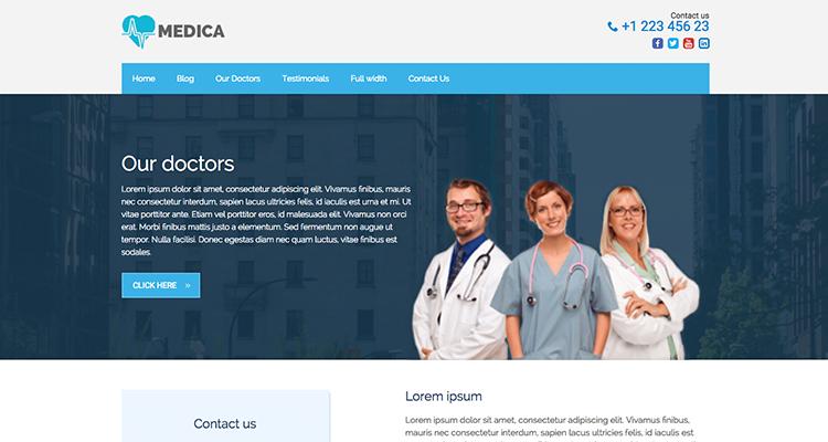 30+ Best Medical WordPress Themes for Doctors - WPExplorer