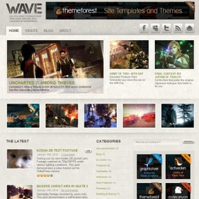 Wave Video WordPress Theme