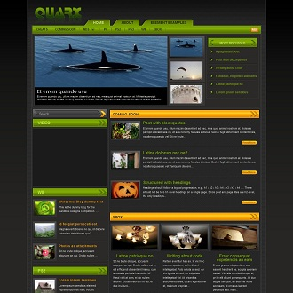 Quarx Gaming WordPress Theme