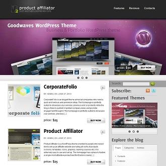 Product Affiliator, Affiliate Marketing WordPress Theme