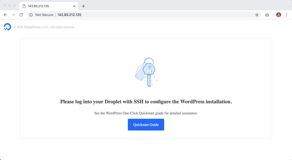 How to Install WordPress in DigitalOcean - WPExplorer