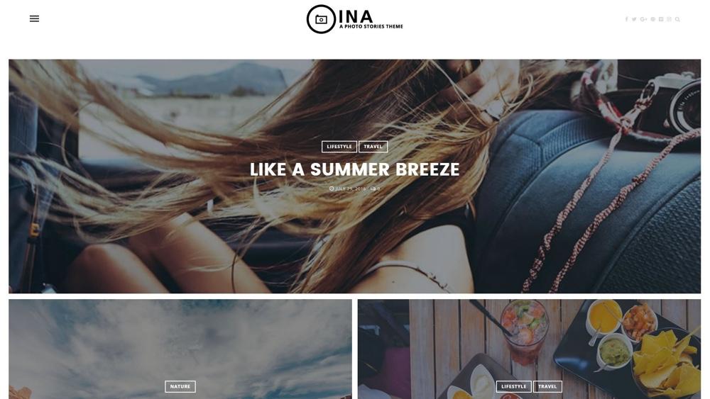 INA Photo Stories WordPress Theme
