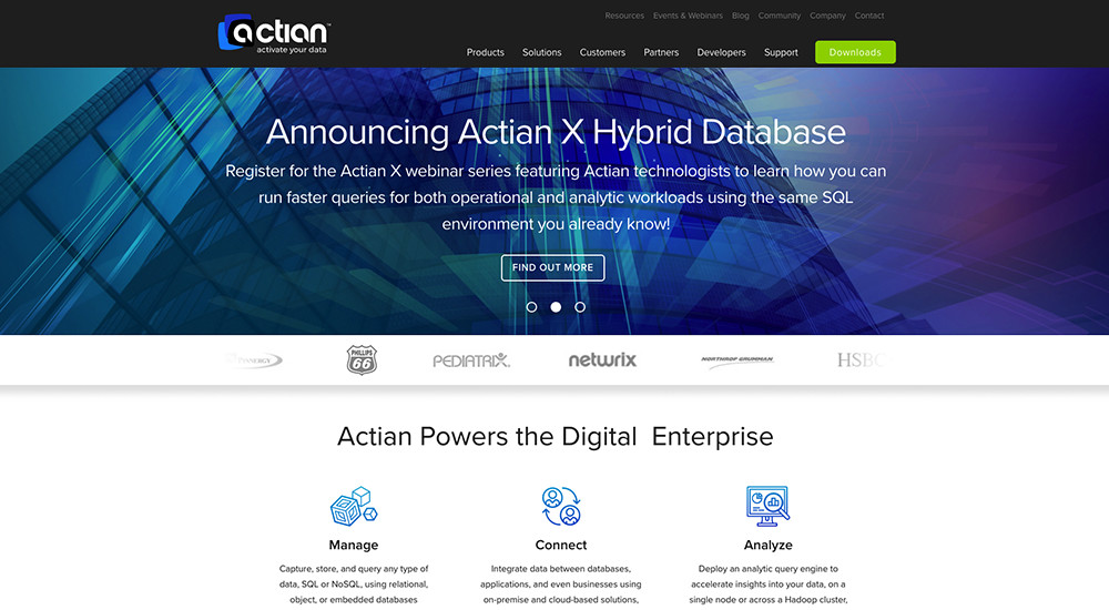 Actian: Total WordPress Theme