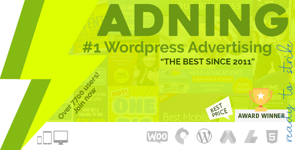 ADNING (WP Pro Advertising System) WordPress Plugin