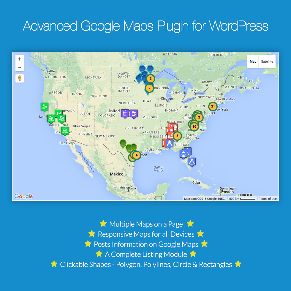 Advanced Google Maps Plugin For Wordpress Wpexplorer