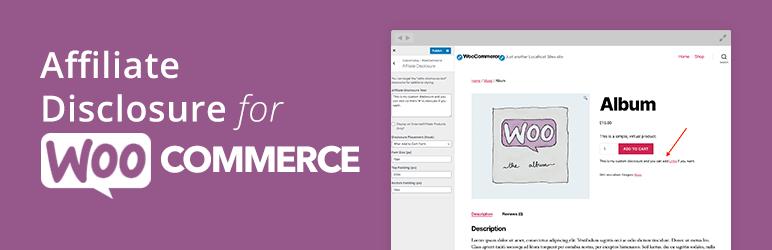 Affiliate Disclosure for WooCommerce