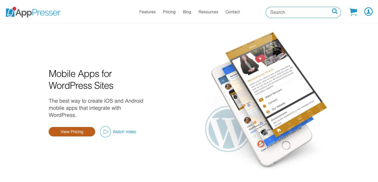 AppPressor Mobile App Builder