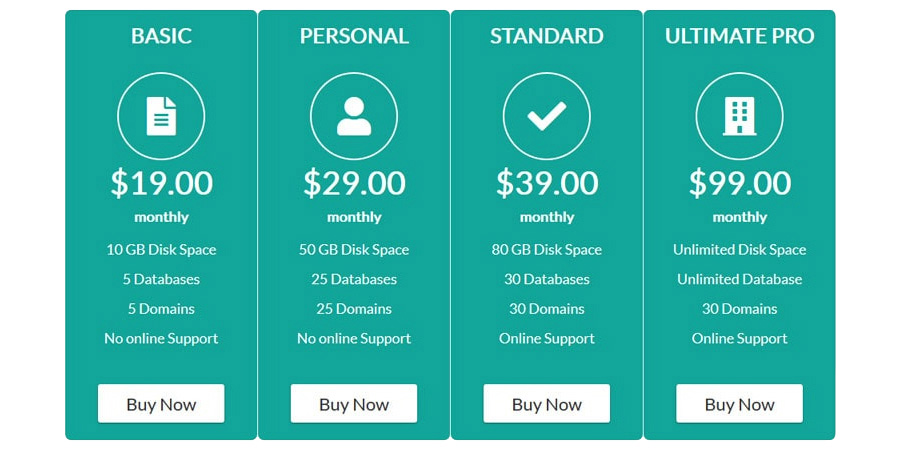 ARPrice Lite Free Pricing Table Plugin