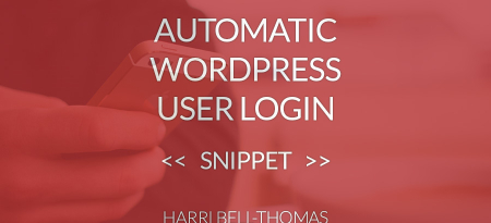 Automatic WordPress Admin Login in PHP