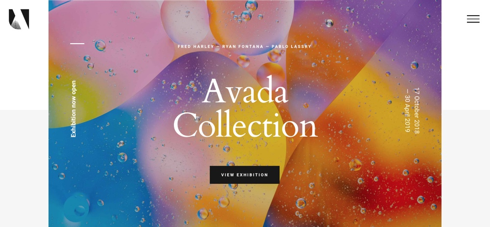 Avada WordPress Theme Gallerie