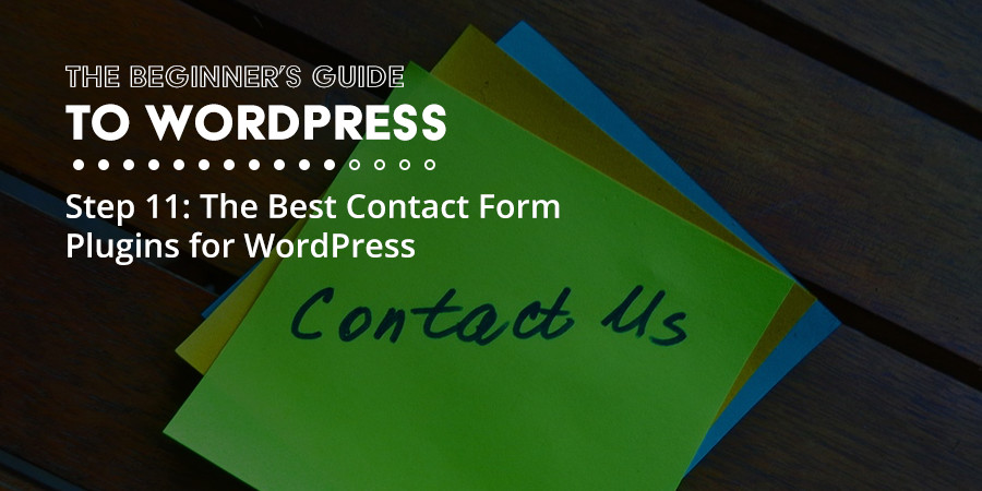 How to Add a Contact Form to your WordPress Site