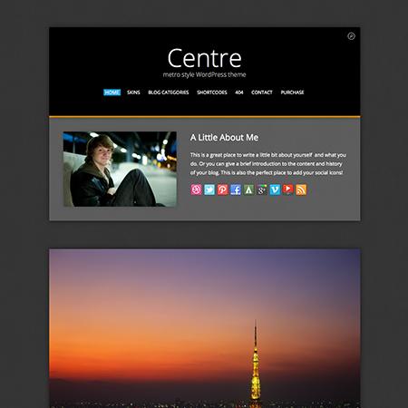 Centre Metro WordPress Theme