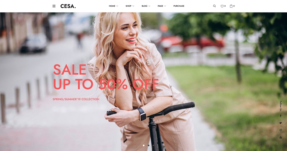 Cesa - Best Gutenberg WordPress Themes