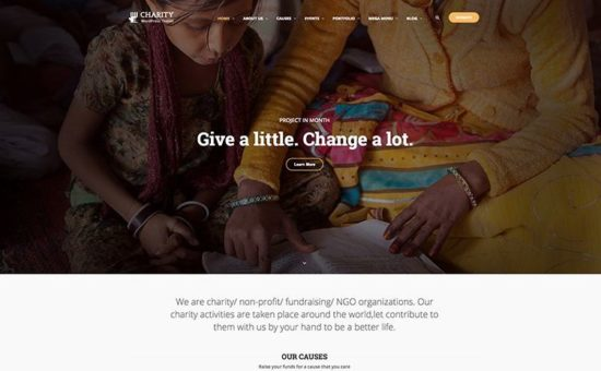 Charity WP NonProfit Charity WordPress Theme