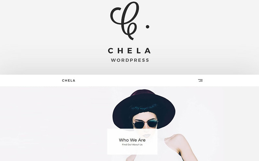 Chela Minimal Agency WordPress Theme