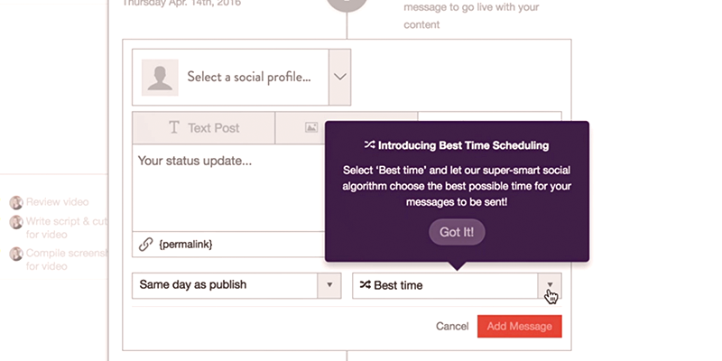 Coschedule Intelligent Scheduling