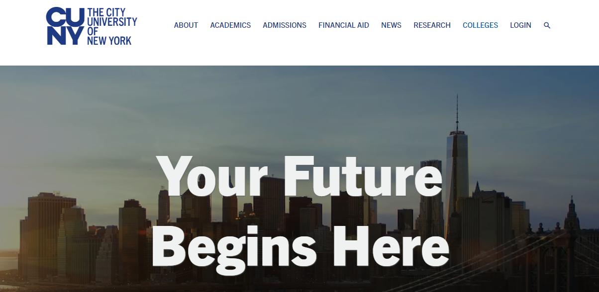 the city university of new york uses wordpress