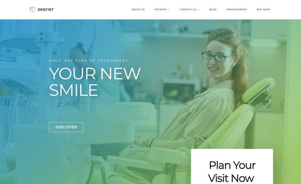 Dentist WP Dental WordPress Theme