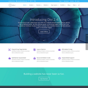 Divi 2.4 Multipurpose WordPress Theme