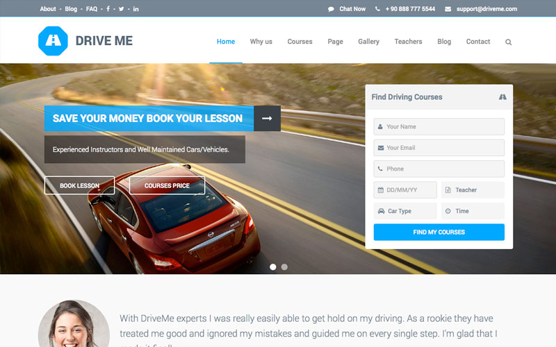 driveme-education-theme