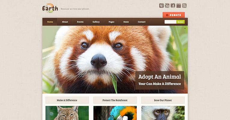 earth-eco-nonprofit-wordpress-theme