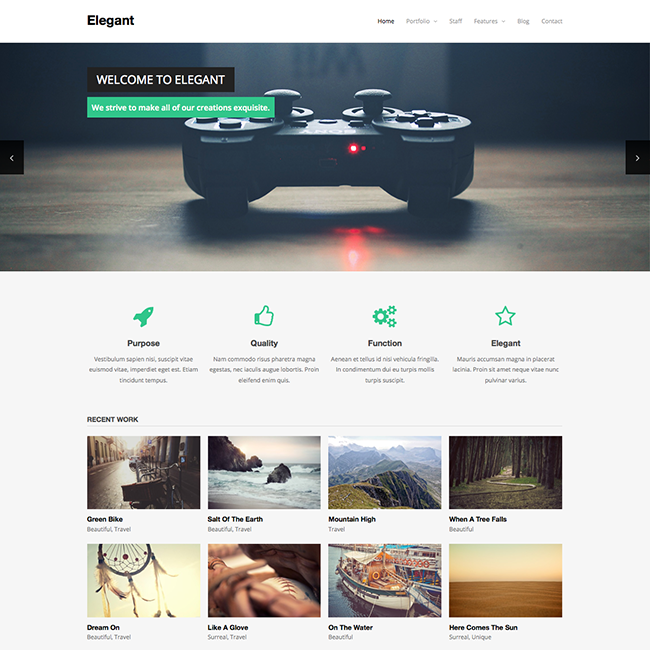 wordpress subcategory template - elegant free wordpress theme wpexplorer
