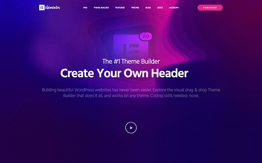 The Elementor Theme Builder