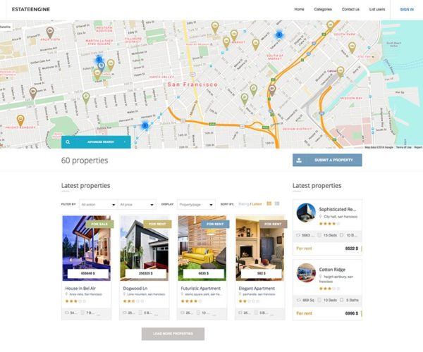 EstateEngine Real Estate Directory WordPress Theme