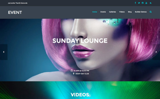 Event Parallax WordPress Theme - WPExplorer