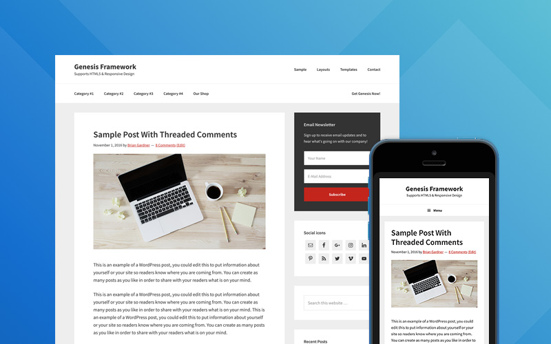 Genesis WordPress Theme Framework