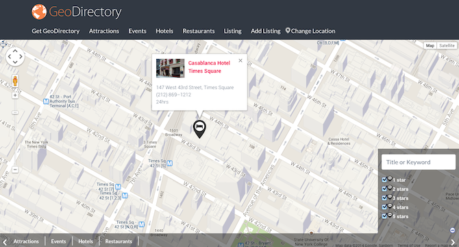 Add Location Based Directory Maps To WordPress With GeoDirectory