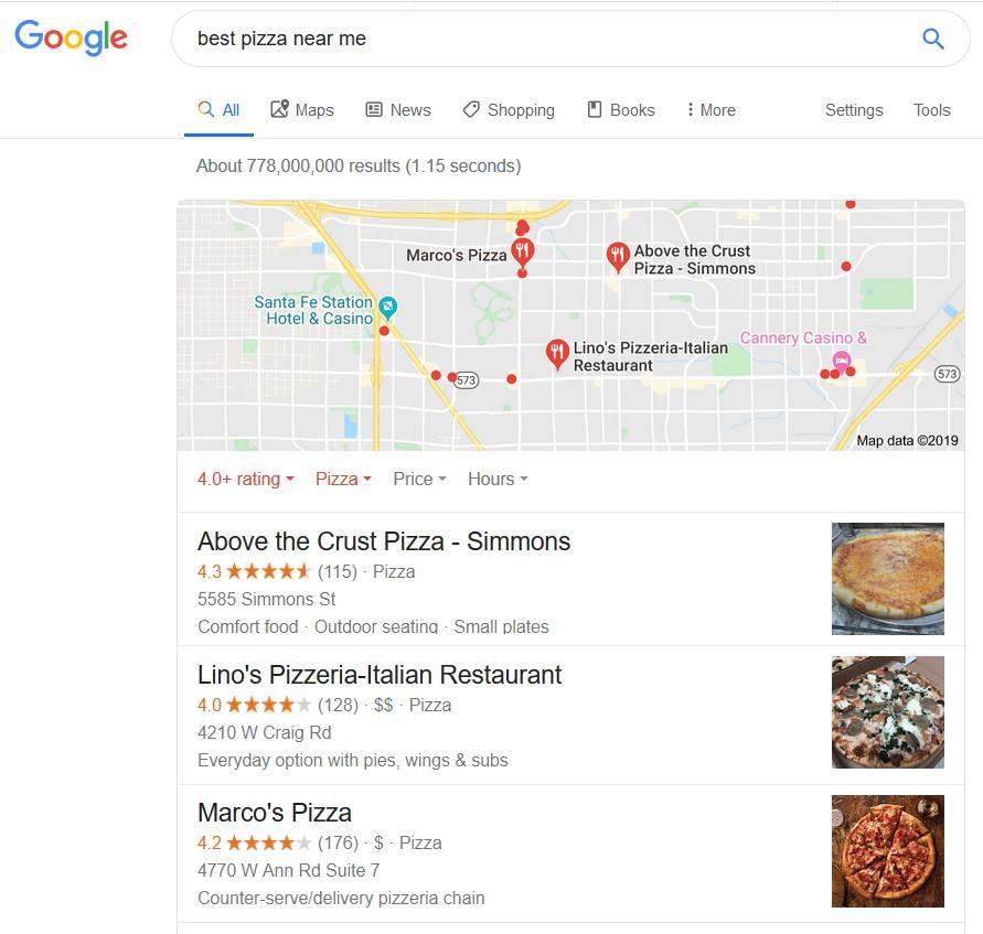 Google 3-pack