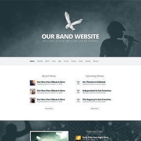 Harmony Band & Music WordPress Theme