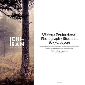 Ichiban Elegant Photography WordPress Theme
