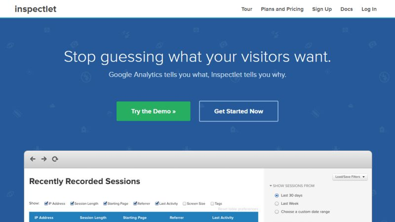 inspectlet-heatmap-analytics-wordpress-plugin-service