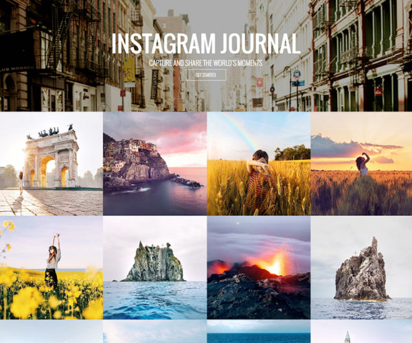 Instagram Photo Journal WordPress Plugin