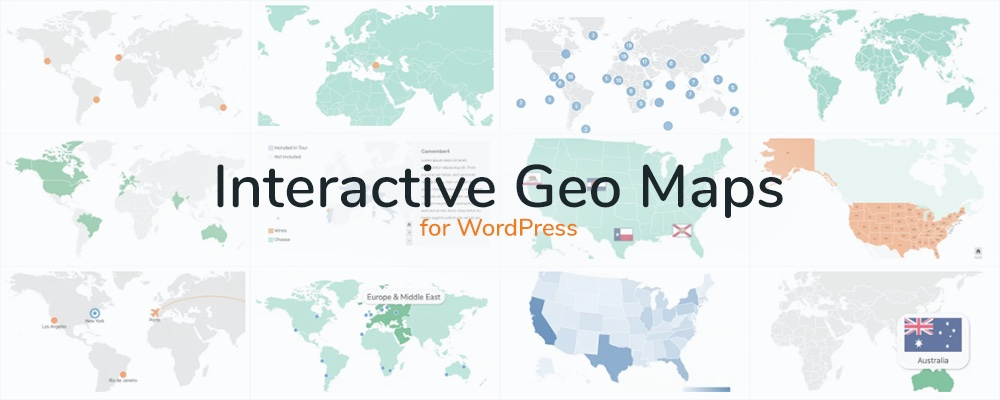 Interactive Geo Maps WordPress Plugin