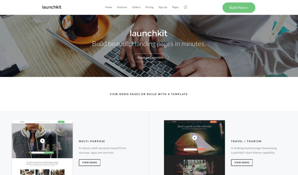 LaunchKit – Marketing WordPress Theme
