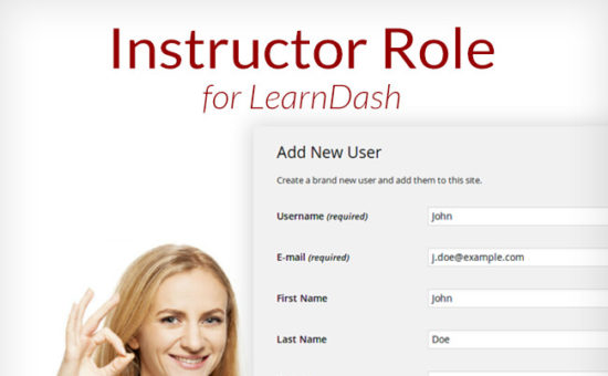 Instructor Role Extension Plugin for LearnDash