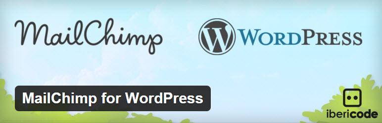 mailchip for wordpress plugin