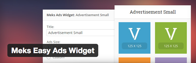Meks Easy Ads Widget PLugin