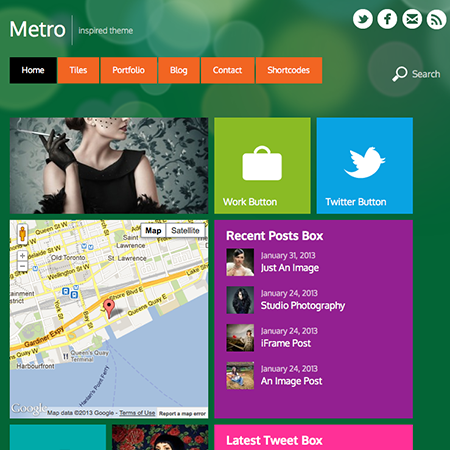 Metro Blog WordPress Theme - WPExplorer