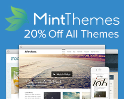 Mint Themes 20% Off