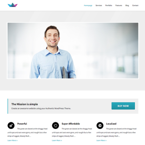 Mission Coporate Business WordPress Theme
