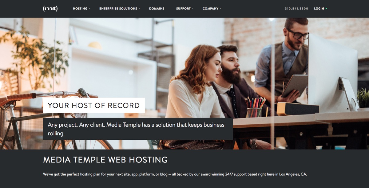 Media Temple: Shared, Managed & VPS Hosting
