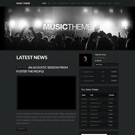 Music & Band WordPress Theme - WPExplorer