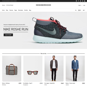 Neighborhood E-Commerce WordPress Theme