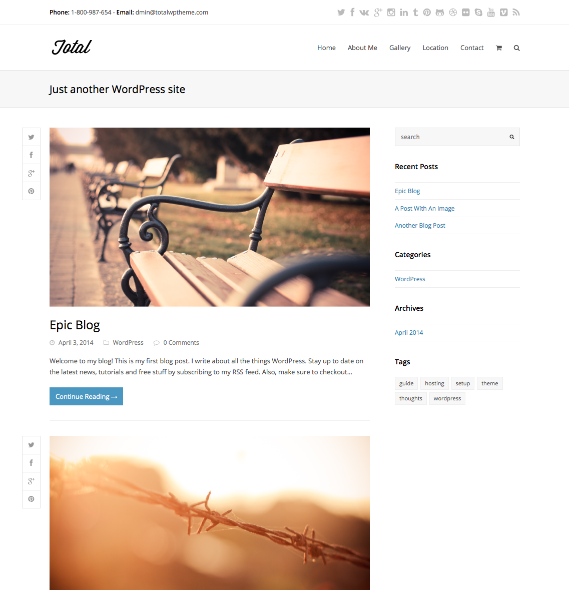 GoDaddy Setup: New WordPress Theme
